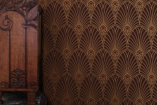 Bradbury Art Deco Wallpaper