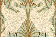 Bradbury Walter Crane Swan