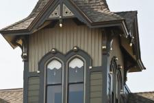 Victorian tower restoration