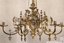 Bradley and Hubbard chandelier