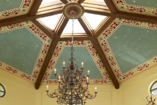 Italian painted ceiling