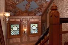 McDonald Mansion stairway