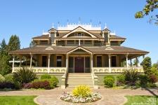 Mabelton, the MacDonald Mansion, Santa Rosa, CA