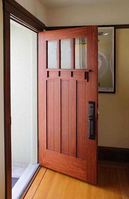 Craftsman style entry door & Shawn Kammerer u2014 Craftsman Door Company u2013 Artistic License