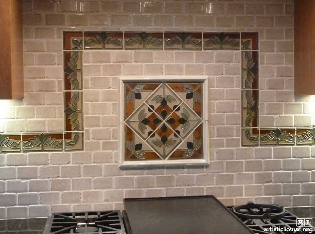 Janet Starr Craftsman Tiles By Feature Tile Artistic